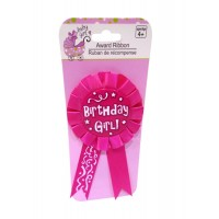 Birthday Girl Hot Pink Brooch