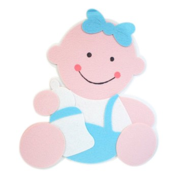 Blue Baby Cutouts