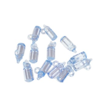 Blue Crystal Bottle Favors (Pack of 12)