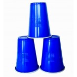 Blue Plastic Beer Pong Glasses (20 Pcs)