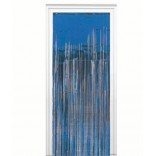 Royal Blue Foil Fringe Curtain (3 feet x 6 feet)