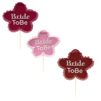 Bride To Be Felt Stick Prop