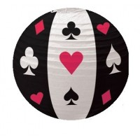 Casino Theme Paper Lanterns