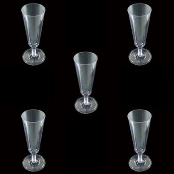Champagne Glasses (Pack of 5 Pcs)
