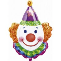 Clown Head Super Shape Balloon