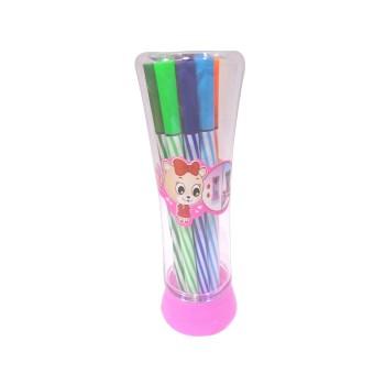 Cute Kitty Multicolour Sketch Pens