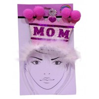 Cute Mom Printed HairBand