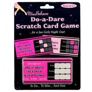 Do-A-Dare Scratch Card Game