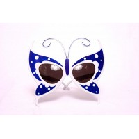 Blue Butterfly Eye Glasses