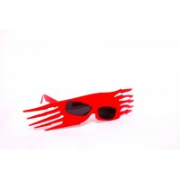 Red Party Eye Glasses