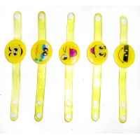 Emoji Led Multi Design Wrist Bands (Pack of 1)