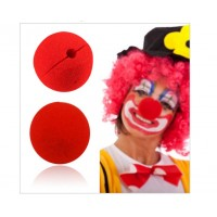 Fancy Red Foam Clown Nose