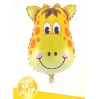 Giraffe Face Super Shape Foil Balloon