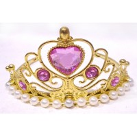 Golden Crown with Pearls
