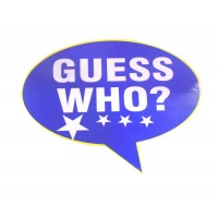 Guess Who? Placard