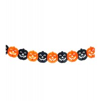 Halloween Pumpkin Hanging Garland