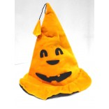 Halloween Velvet Pumpkin Hat