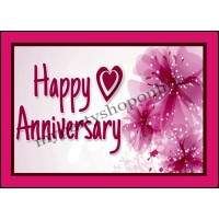 Happy Anniversary Placard