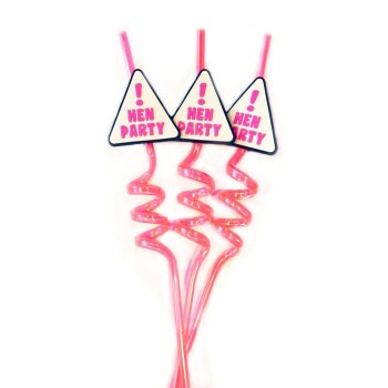 Hen Party Straw (1 Pc)
