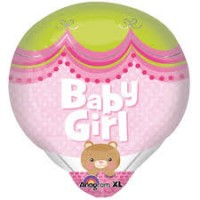 Baby Girl Hot Air Balloon