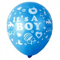 It's a Boy Printed Latex Balloons