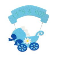Its A Boy Hanging Pram