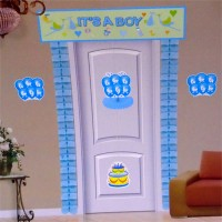 Its A Boy Theme 7 In 1 Door Decor Pack