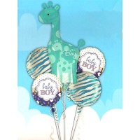 Its A Boy Foil Balloons Set