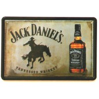 Jack Daniel's Tennessee Whiskey Metal Signs