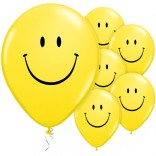 Smiley Latex Balloons (Pack Of 10)