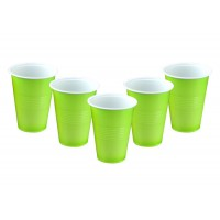 Light Green Plastic Beer Pong Glasses (20 Pcs)
