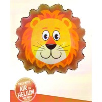 Lion Face Super Shape Foil Balloon