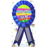 Baby Shower Maamu To Be Badge