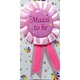 Baby Shower Maasi To Be Badge