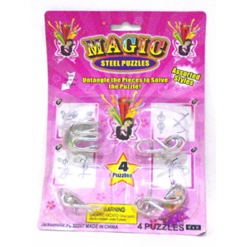 Magic Steel Puzzles