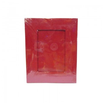 Maroon Solid Color Photo Frame