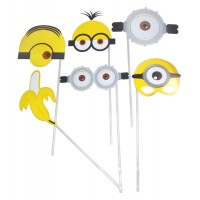 Minions Photobooth Props