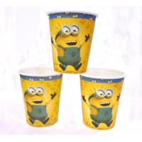 Minions Theme Paper Cups (Pack of 10)