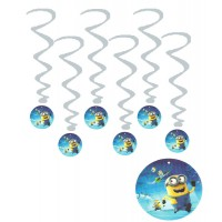 Minions Theme Hanging Swirls