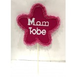 Mom To Be Felt Stick Props