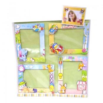 Multicolor Photo Frames Set For Kids