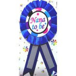 Baby Shower Nana To Be Badge