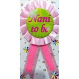 Baby Shower Nani To Be Badge