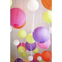 "12"" Paper Lanterns (set of 10)"