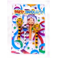 Party Favourites Jungle Theme Candles