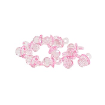 Pink Crystal Nipple Favors (Pack of 12)