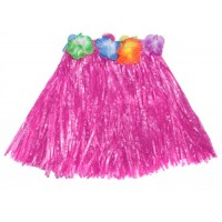 "16"" Pink Hawaiian Theme Skirt"