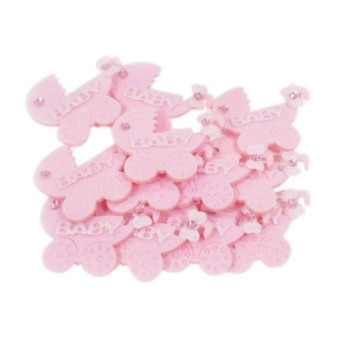 Pink Pram Favors (Pack of 12)