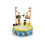 Pirate Cake Decor Kit