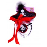 Pirate Style Hairband With Eye Patch